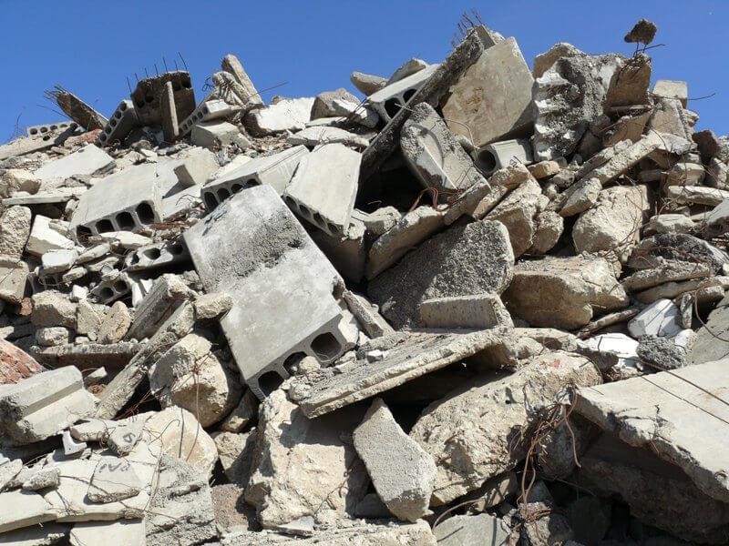 Виды отходов строительства